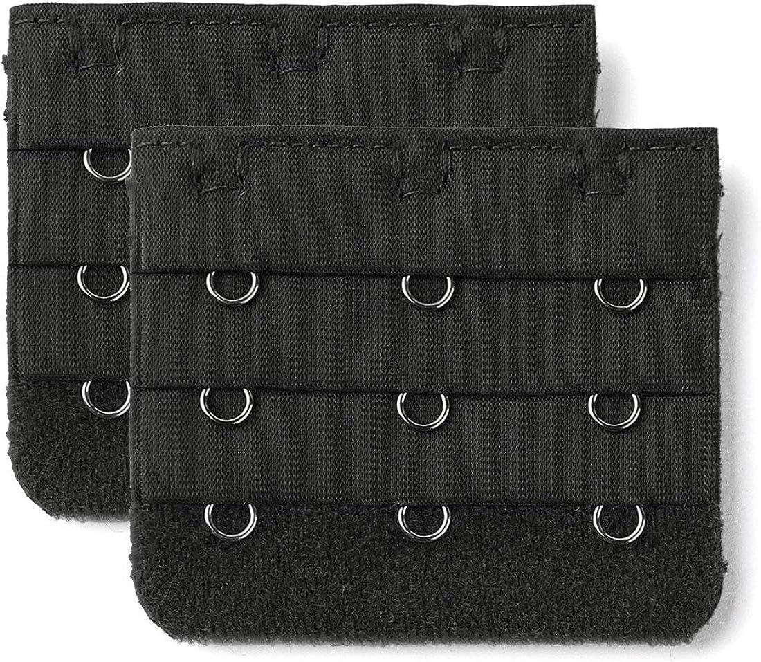 Allegra K Brassiere Bra Underwear Extender 2021 model Hooks Extension 3-Row Complete Free Shipping