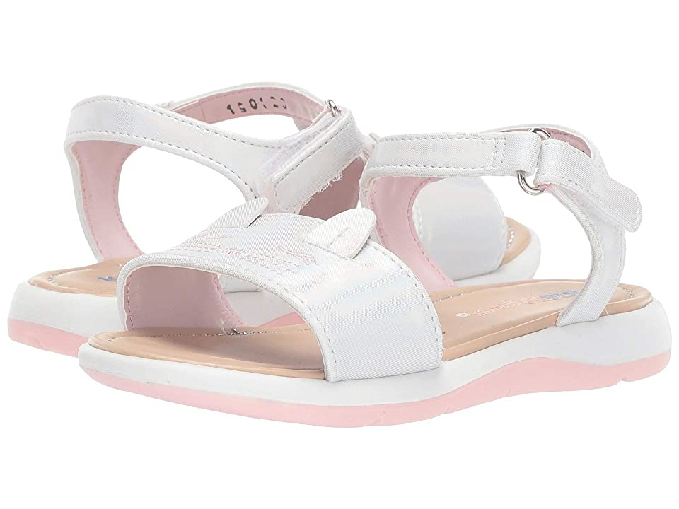 Kid Express Esther (Toddler) (White Combo) Girls Shoes