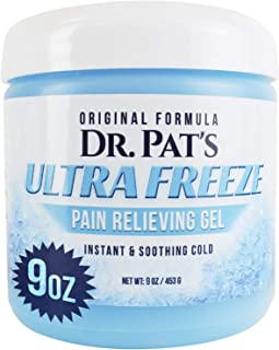 Ultra Freeze Muscle Rub - Pain Relief Gel for Arthritis, Neuropathy, Foot and Joint - Cooling Sports Massage for Back, Shoulder and Knee - Topical Analgesic Menthol for Neck and Body