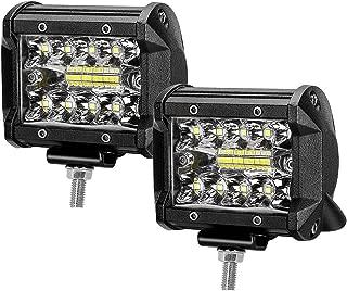 Faro Faretto LED Fuoristrada Off-Road Camion Lavoro 9W 12V 24V 60 Lumen