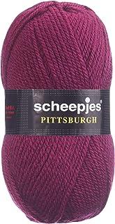 Scheepjes Pittsburgh Fil à Tricoter 60 % Polyacrylique 40 % Laine, Grain de Raisin, Taille unique