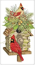 Memorial Microfiber Kitchen//Bar Towel Gift for Woman Grief Cardinals Appear with Angels are Near