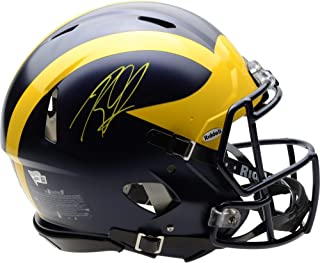 Rashan Gary Michigan Wolverines Autographed Riddell Speed Authentic Helmet - Fanatics Authentic Certified