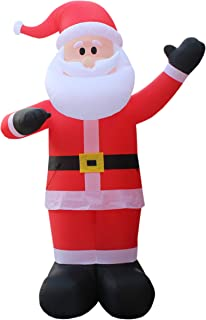 BZB Goods 14 Foot Tall Huge Christmas Inflatable Santa Claus Outdoor Indoor Decoration