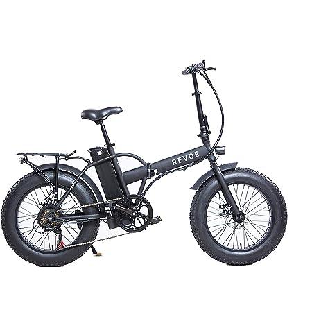 Revoe 551691 Dirt Vtc Bicicletta Elettrica Pieghevole 20', Nero