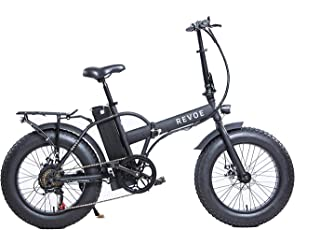 Revoe 553503 Dirt Vtc Bicicletta Elettrica Pieghevole 20', Nero