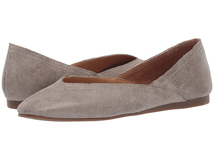 Lucky Brand  Alba (Titanium) Womens Flat Shoes