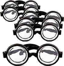 Nerd Brille Streber Scherzbrille Spassbrille Faschingsbrille Nerdbrille Fake