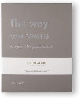 PRINTWORKS Photo Album - The Way We were