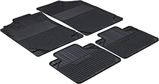 Walser Easyfit 28016 Car Rubber Mat Set of 4 Size 1