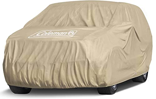 """lowest Coleman Coleman Premium Executive SUV Cover - discount Indoor-Outdoor Cover Water Resistant/Dustproof/Scratch Resistant/UV Protection for Vehicles up to high quality 159"""" Inches sale"""