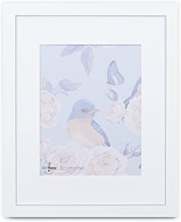 18x24 White Picture Frame - Matted for 12x18, Frames by EcoHome