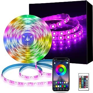 LED Strip 7.5m,Richsing LED Streifen Bluetooth,LED Lichterketter RGB,Dimmbar 5050 Lichtleiste Light,LED Lichtband mit Fern...