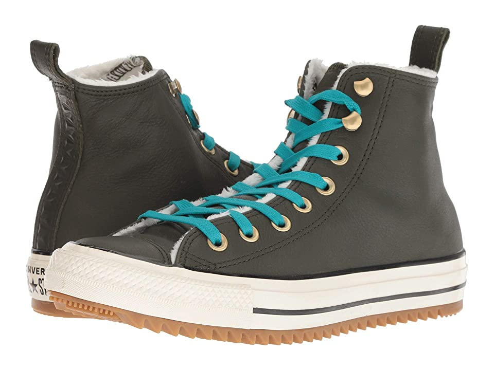 Converse Chuck Taylor All Star Hiker Boot Hi (Utility Green/Rapid Teal/Natural Ivory) Lace up casual Shoes