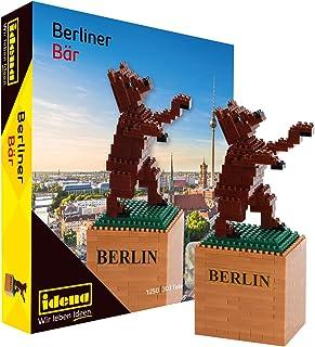 Idena 40132 - 3D Modellbauset Berliner Bär mit 507 Original