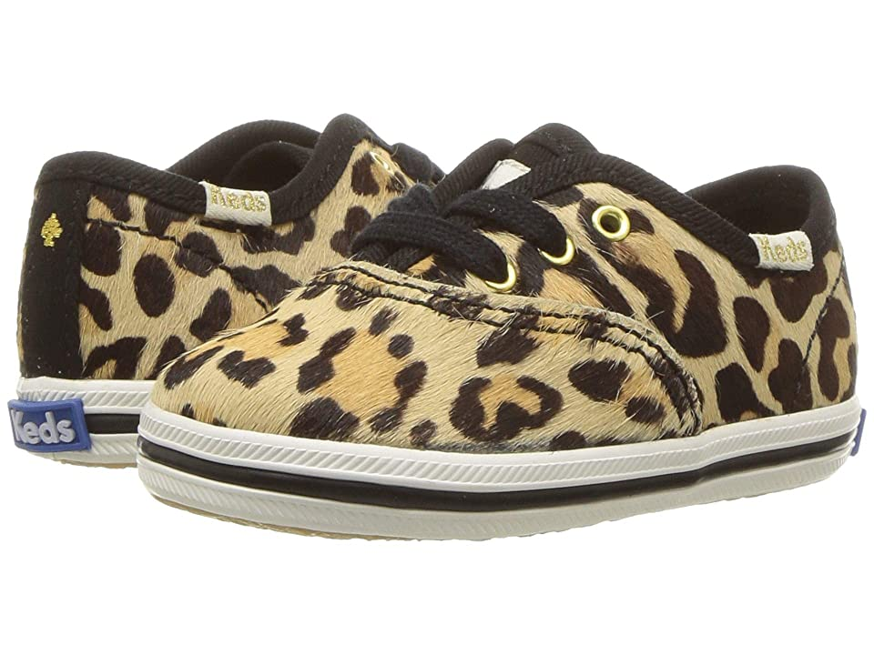 Keds x kate spade new york Kids Kickstart Crib (Infant/Toddler) (Leopard) Girl
