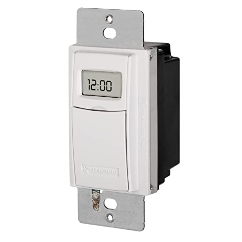 intermatic st01 7 day programmable in wall digital timer switch for lights  and appliances, astronomic
