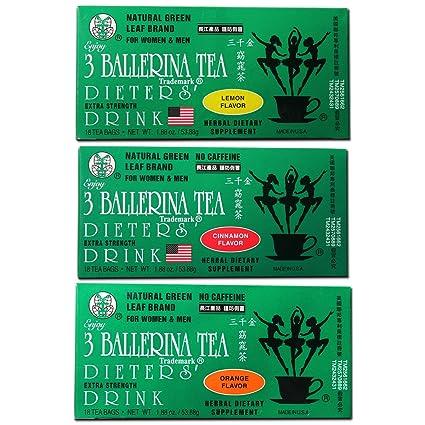 3 balerina tea extra erő fogyás)