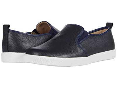 Elephantito Classic Slip-On (Toddler/Little Kid/Big Kid) (Textured Blue) Boy