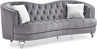 Glory Furniture Jewel Sofa, Gray. Living Room Furniture 35
