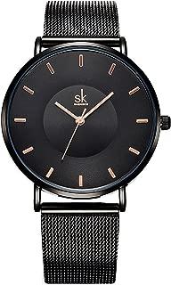 Creative Simplicity Women Watch Mesh Band Elegant Women Watches Ladies Business Wristwatch