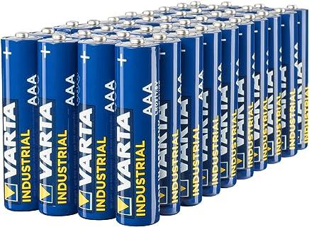Varta Industrial Batterie AAA Micro Alkaline Batterien LR03 (40er pack)