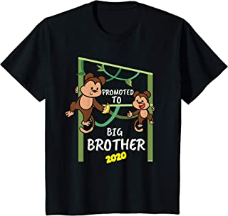 Kids Promoted to Big Brother 2020 Shirt Monkey Brothers T-Shirt