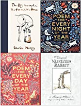 The Boy The Mole The Fox and The Horse, A Poem for Every Night of the Year, A Poem for Every Day of the Year, The Velveteen Rabbit 4 Books Collection Set