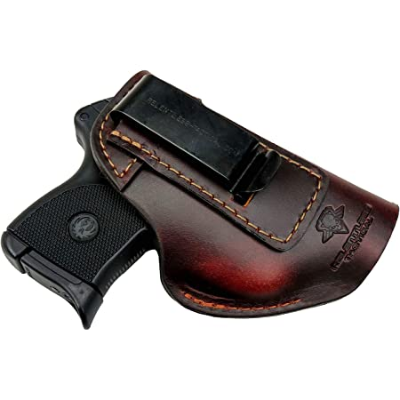 Relentless Tactical The Defender Leather IWB Holster - Made in USA - Fits Ruger LCP, LCP2, Sig P238, P290, S&W Bodyguard .380 and Most .380's - Made in USA