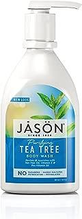 Jason Natural Body Wash and Shower Gel, Purifying Tea Tree, 30 oz