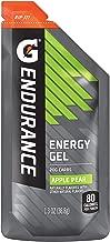 Gatorade Endurance Energy Gel, Apple Pear, 21 Pack, 1.3 oz Pouches
