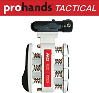 Prohands Tactical Hand Exerciser with Laser Sight (Train Your Hands to Lock on The Target), Ultimate Training Tool for Handgun Accuracy