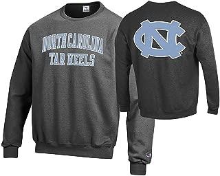 NCAA Men's Front/Back Dark Heather Crew Sweatshirt