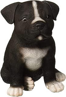 Hi-Line Gift Ltd Sitting Staffordshire Pitbull Puppy Statue