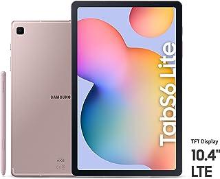 Samsung Galaxy Tab S6 Lite, 64GB, 4GB RAM, LTE, UAE Version - Pink