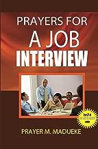 short prayer for a job interview