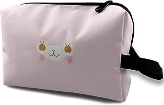 Danny Lopeze Skincare Portable Alpacasso Pink Storage Bags Toiletry Bag Zipper Women Skincare Cosmetic Pouch