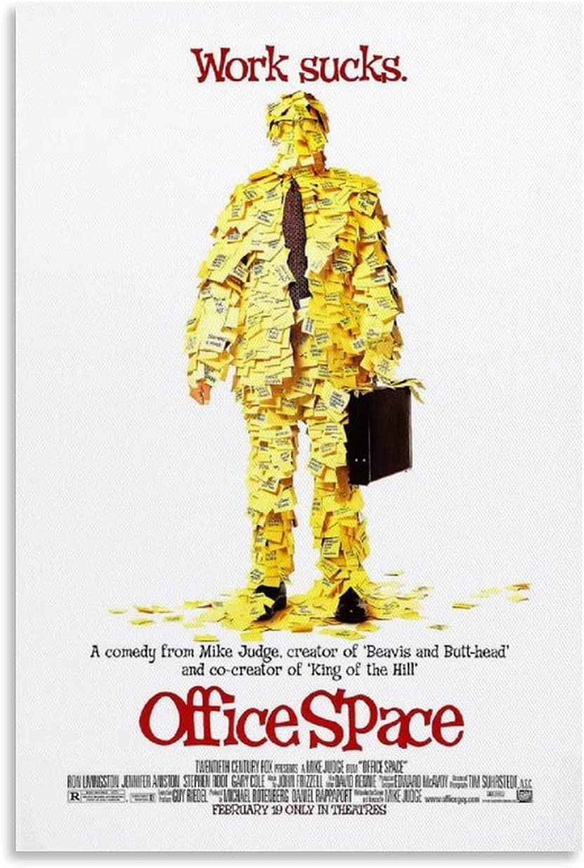 ICICLANE Office Space Movie Over item handling 90s Max 49% OFF Vintage Posters