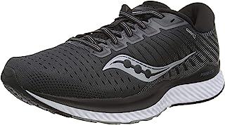 حذاء ركض Saucony Women's S10548-40 Guide 13، أسود | أبيض - 9. 5 M US