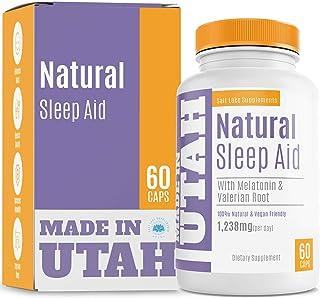 Natural Sleep Aid Formula Combines Melatonin, Valerian Root & Non-Addictive Extracts Into The Best 100% Safe Sleeping Pill...