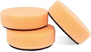 """Griot's Garage 11241 3"""" Orange Polishing Pad (Set of 3)"""