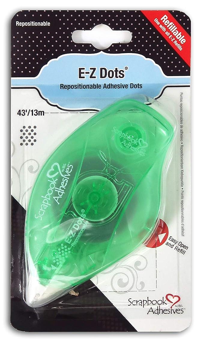 3L Scrapbook Adhesives E-Z Dots Repositionable Refillable Runner Dispenser, 43 Feet