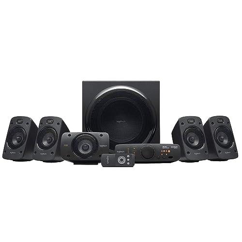 Enceintes stéréo 3D Z906 Logitech avec son Dolby Surround 51, THX, 1000W Idéales pour le salon