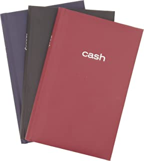 Mead Cash Book - 7-15/16 x 5-1/8 inches - 144 Pages- Assorted colors