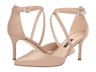 Nine West Mig Pointed Toe Pump (Barely Nude) Women