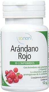 Sanon Arándano Rojo Americano con Vitamina C - 2 Paquetes