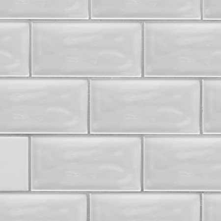 Mint Green 4x12 Undulated Subway Tile Box of 13.33 sq ft