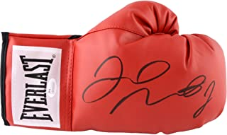 mayweather autographed glove