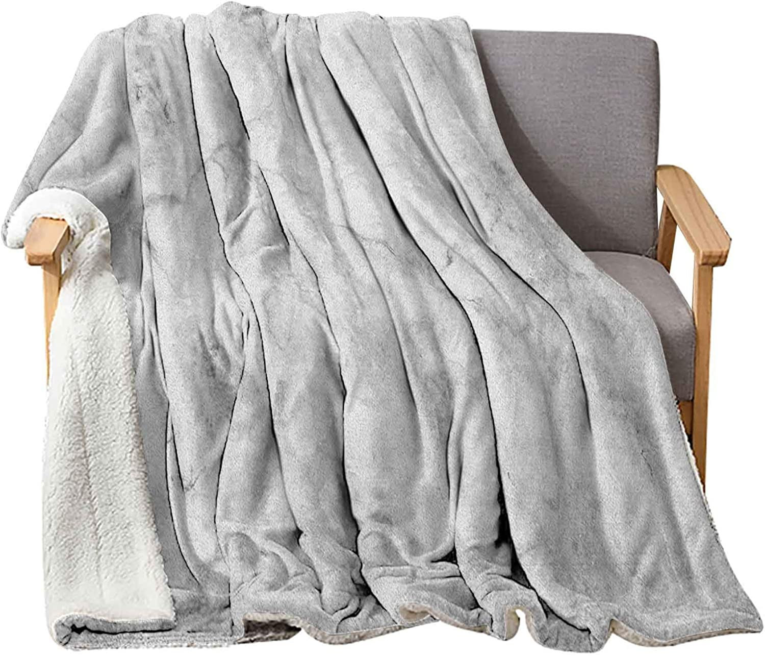 Interestlee Marble 通常便なら送料無料 Throw Blanket for Bed x ギフト プレゼント ご褒美 60