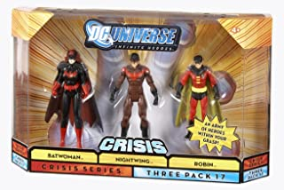 DC Universe 75th Anniversary Infinite Heroes Batwoman, Robin, Nightwing Figures